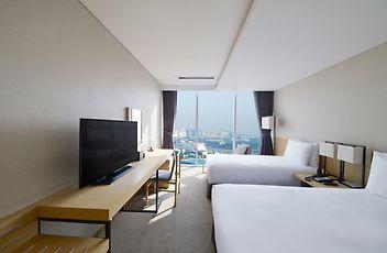 Camera Matrimoniale Per Uso Singolo.Harbor Park Hotel Incheon